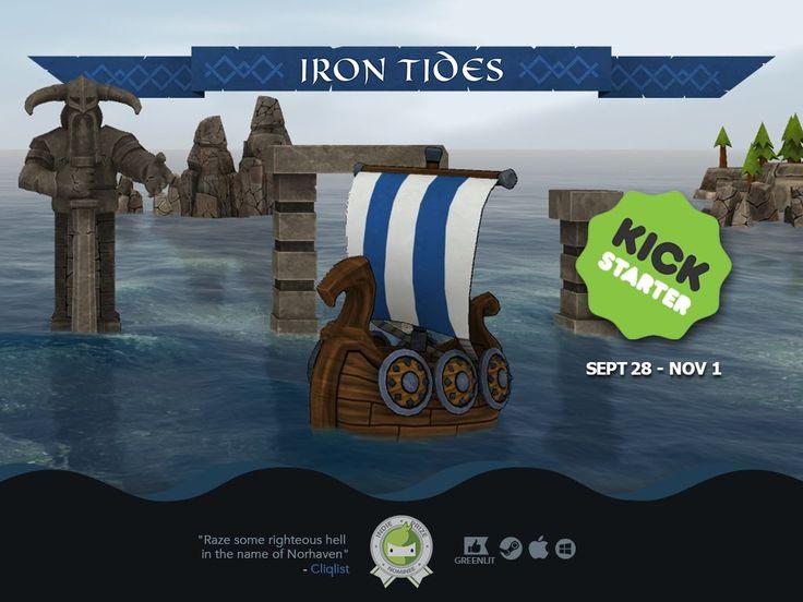 Iron Tides is almost hitting it's goal on Kickstarter!   KeenGamer