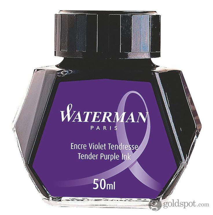 Waterman Fountain Pen Bottled Ink - Purple