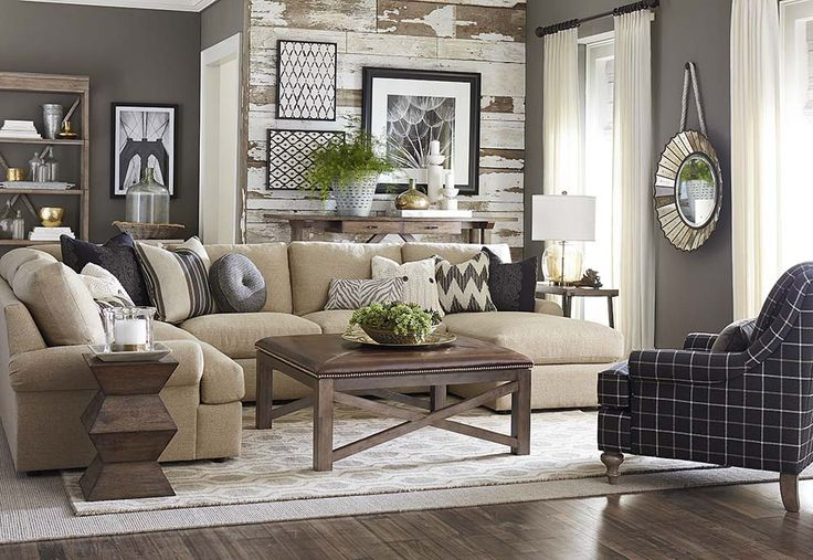 Best 25 u shaped sofa ideas on pinterest for Bassett living room u shaped sectional