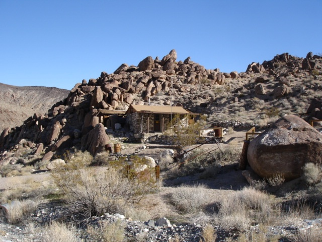 Osborne Miners Cabin Panamint Valley Ca Taken By Phil
