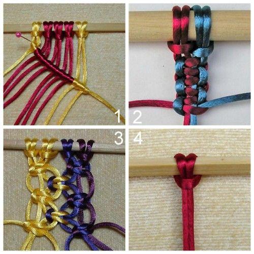DIY Tutorial for Twelve Basic Macrame Knots for Necklaces, Bracelets, etc…