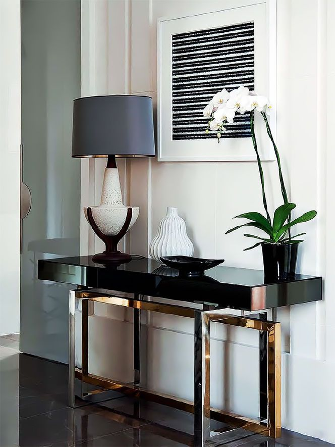 Aparador com designer moderno e sofisticado.
