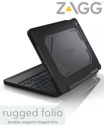 ZAGGKeys Rugged Folio Keyboard Apple iPad Air 2 Zwart