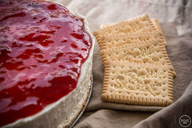 Τσιζκέικ χωρίς γλουτένη (Cheesecake) - madameginger.com