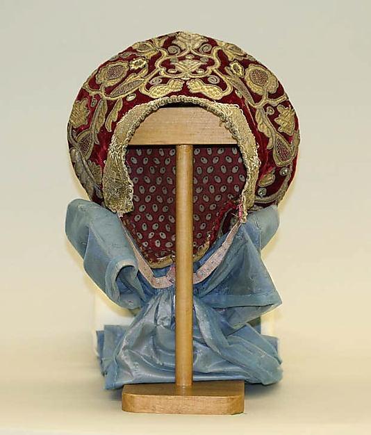 Headdress | Russia, 19th century | The Metropolitan Museum of Art, New York