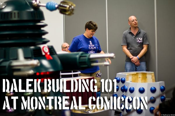 PROJECT DALEK: You Too Can Build Your Own Exterminator! | Indecent Xposure | IX Daily  Admit it. Daleks are cool.  And now, thanks to the Doctor Who Society of Canada and Project Dalek , you can build your own.  What are you waiting for?  Visit  IX Daily for more information!