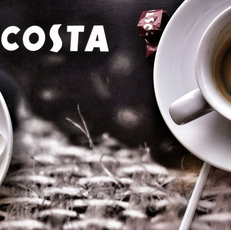 #coffe time in #Alicante AirPort, Costa Coffe