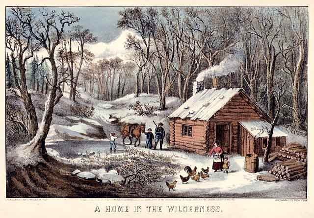 currier and ives- More of his collections include Currier and Ives memorabilia.