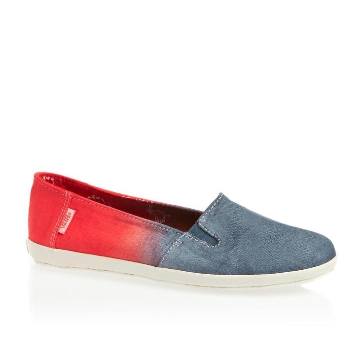 Vans Bixie Shoes - (Leila) Ensign Blue Doves | Free UK Delivery
