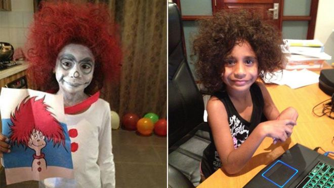 Aboriginal mum posts daughter's 'whiteface' photos