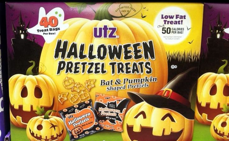 Utz Halloween Pretzel Treasts, 2017.