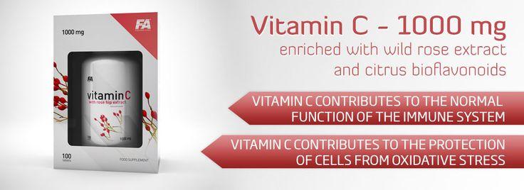 Vitamin C con Rose Hip Extract è il nuovo integratore prodotto dalla FA ENGINEERED NUTRITION studiato per contribuire alla normale funzione dei vasi sanguini, denti, ossa e cartilagini. Questo prodotto è arricchito con estratto di rosa canina e bioflavonoidi estratti dal arancio amaro.. www.technonutrition.it