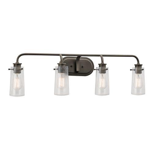 Master Bath Kichler Lighting 4 Light Bayley Olde Bronze Bathroom Vanity Light At Lowes Com: Best 25+ Bronze Bathroom Ideas Only On Pinterest