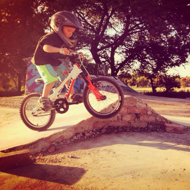 Testing out the new ramps at King Fisher Park - Johannesburg North