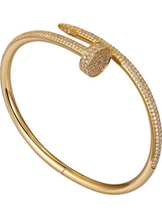 Cartier Juste Un Clou Bracelet Fake 18k Yellow Gold Plated