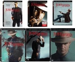 Justified Seasons 1-6 DVD Set