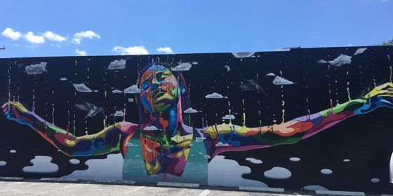 The urban art in the gay-friendly city of St Pete will take your breath away