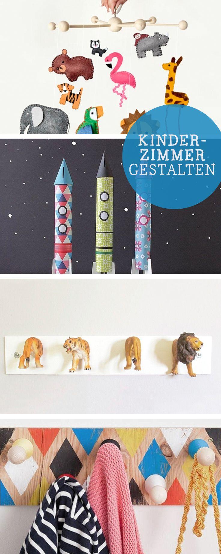 DIY-Ideen: Die schönsten DIY-Anleitungen für ein buntes Kinderzimmer / colourful diy ideas for the nursery, parenting via DaWanda.com
