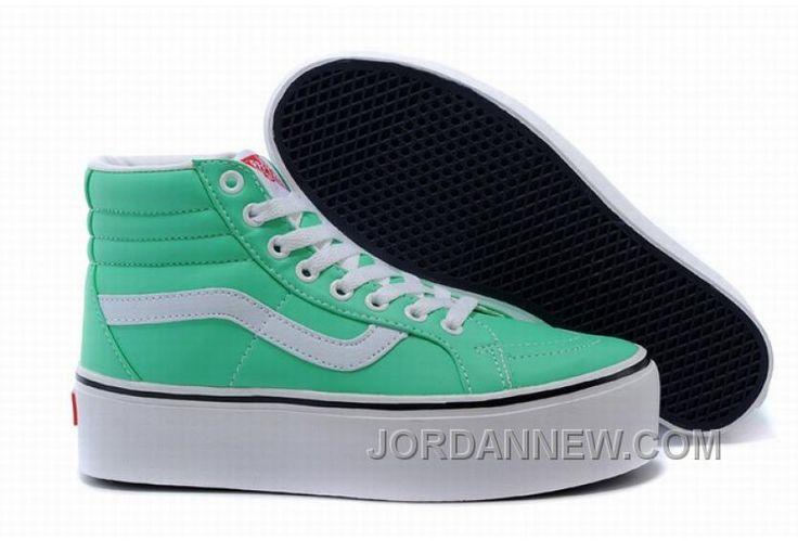 http://www.jordannew.com/vans-sk8hi-platform-green-classic-womens-shoes-top-deals.html VANS SK8-HI PLATFORM GREEN CLASSIC WOMENS SHOES TOP DEALS Only $74.55 , Free Shipping!