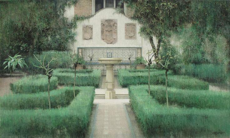 """CARLOS MORAGO """"Jardín Sorolla"""""""