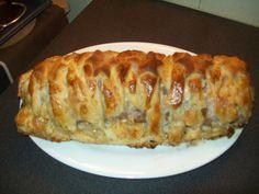 polpettone in crosta - idea sfiziosa per il pranzo di natale
