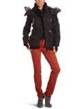 Khujo Ladies jacket Slim Fit MARGRET 1141JK123, Gr.  40 (L), Black (Black 200)