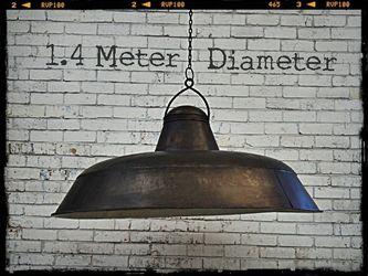 Huge Industrial Pendant Light