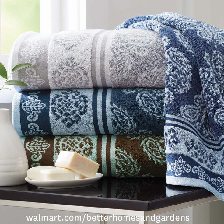 Shop For Better Homes And Gardens Bath Towels In Bath. Buy Products Such As Better  Homes And Gardens Thick And Plush Solid Bath Towel At Walmart And Save.