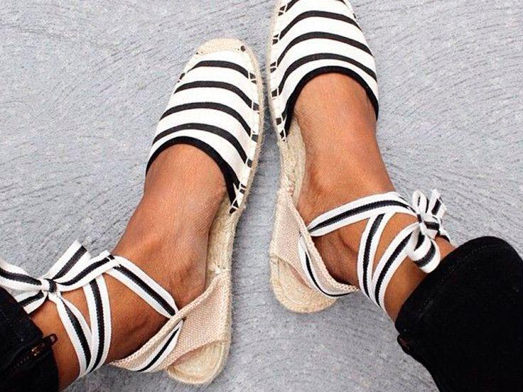 pinterest : les dix chaussures à glisser dans sa valise d'été