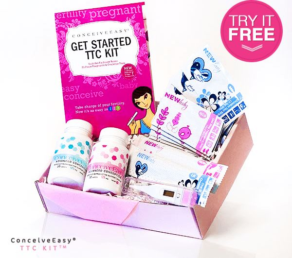 How to Get Pregnant Fast - ConceiveEasy TTC KIt