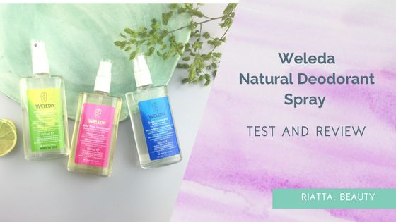 Weleda Natural Deodorant Spray Review of Citrus, Wild Rose and Sage scents. Fresh, natural, gorgeous and feel great. Loved wearing these deodorants!