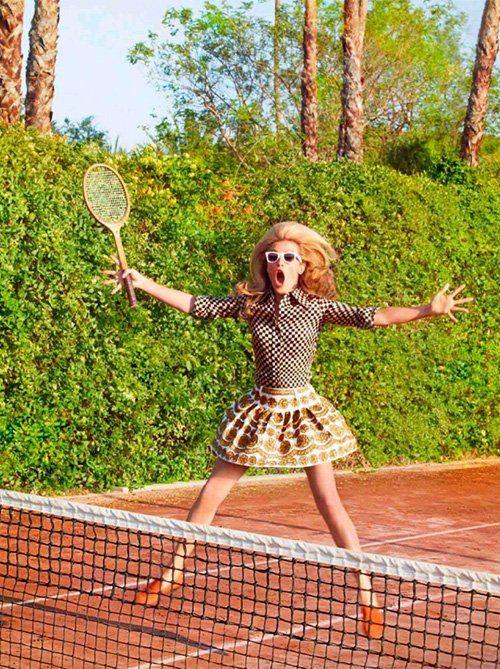 TennisTennis Fashion, Inspiration, Jcrew Vintage Tennis, October 2012, Catálogo Inspirações, Vintage Wardrobe, Ruven Afanador, Cat Deeley, Happy Projects