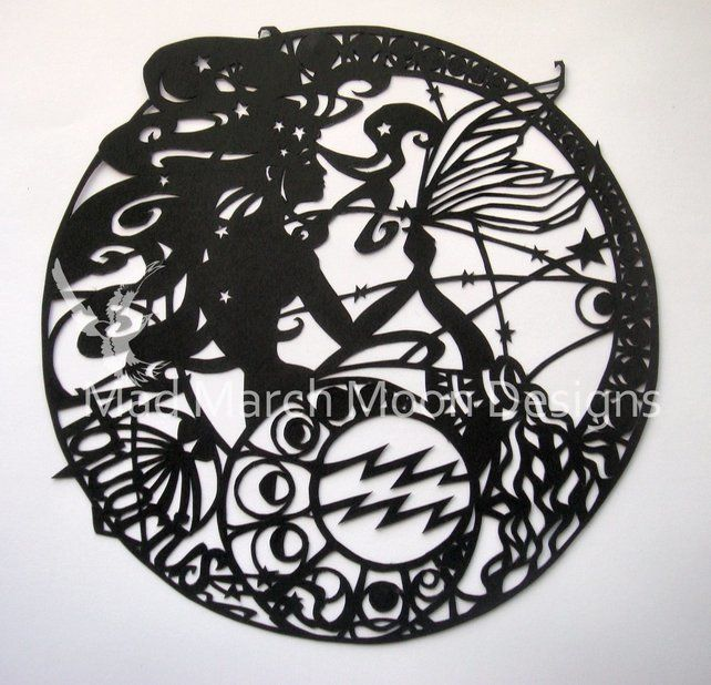 'Aquarius' Zodiac paper Cut £45.00