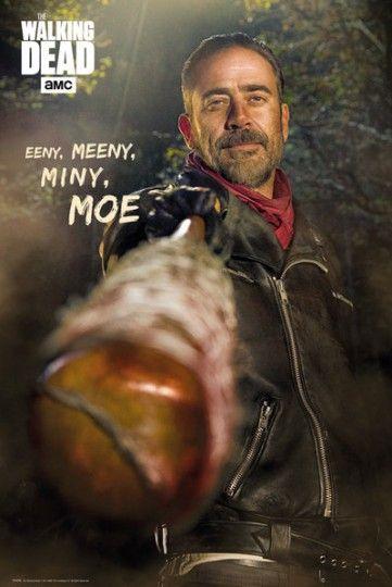 The Walking Dead Negan - plakat