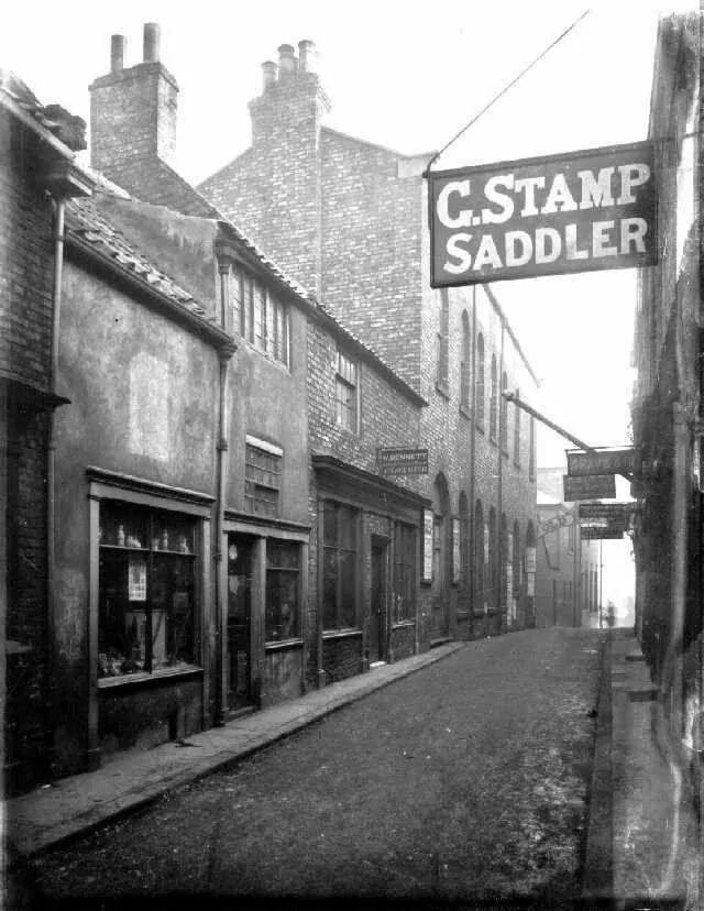 Post house wynd 1901