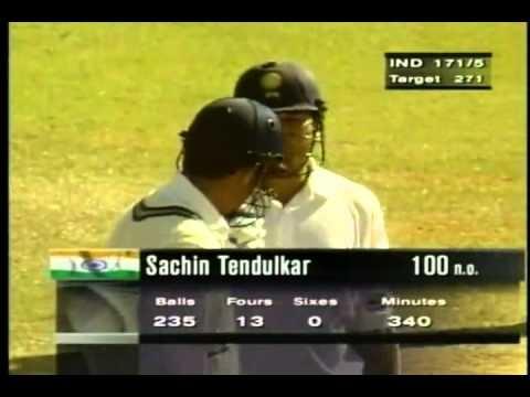 Sachin Tendulkar 136 vs Pakistan, 1999