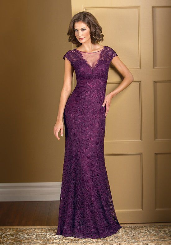 95ee34bf193 Jade Couture K178011 Purple Mother Of The Bride Dress