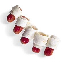 Monster Toes kids treat mini hotdog-i'll have to remeber this for kaidyns halloween birthday parties