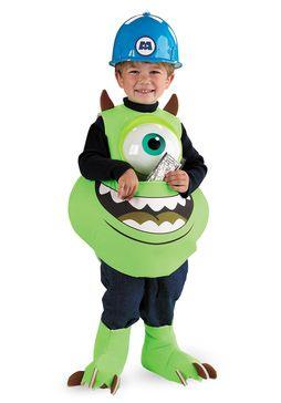 Costume da Mike Wazowski, per bambino   Costumi generici per Bambini   Escapade®