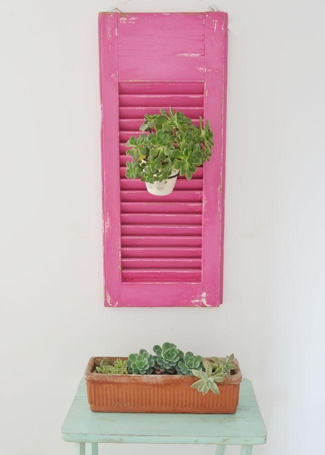 Pink and mint - Va siendo tiempo de balcones... / Vero Palazzo - Home Deco