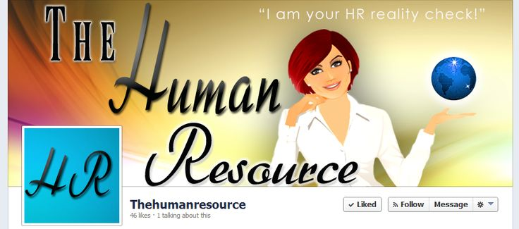 The Human Resource Custom Facebook Cover Page Niche Market Va Hr