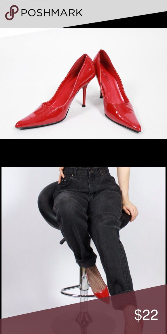 90s Hypnotic Cherry Red Stilettos Super cute and comfortable size 8 hypnotic Shoes Heels