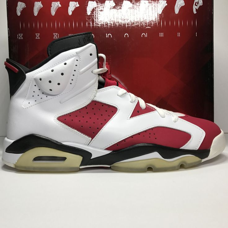 DS Nike Air Jordan Retro 6 VI Carmine CDP Size 11.5