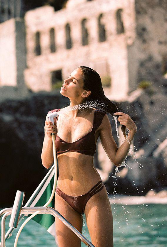 17ae6cfd723 HARPER Bikini Top + ROSE Bikini Bottom     L*Space Swim   Resort 2019    Shot by Cameron Hammond in Lipari, Italy   Model Carmen Bruendler