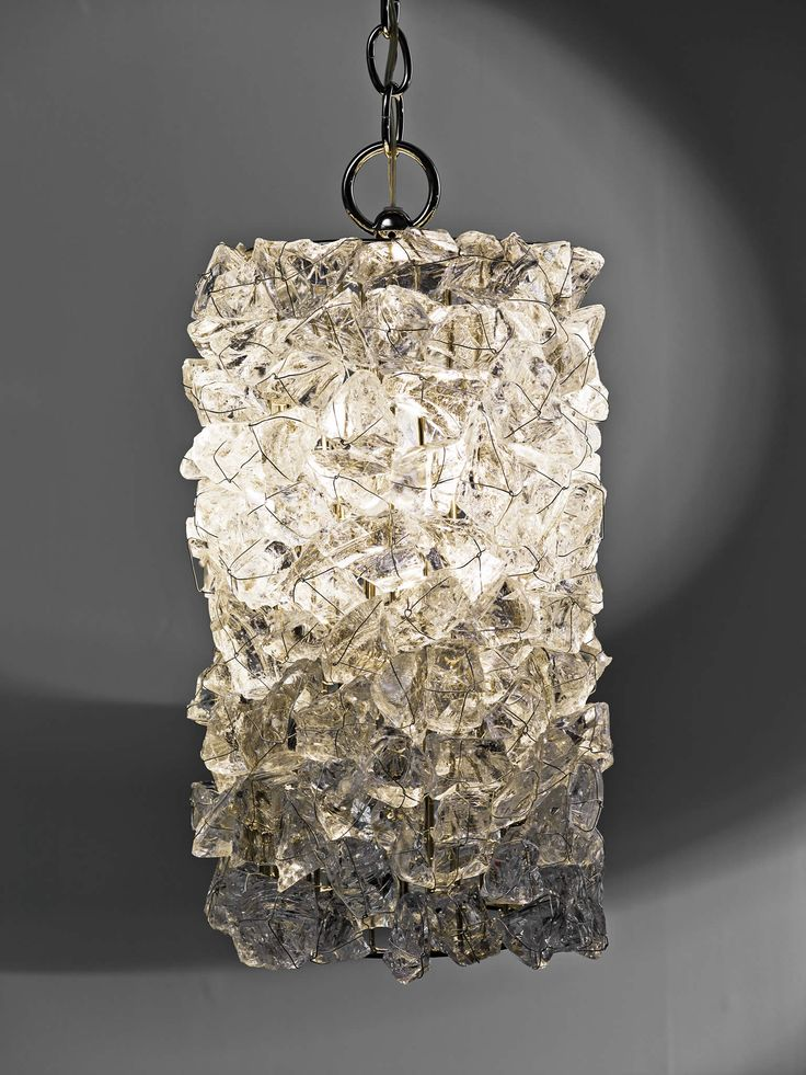 Cl sterling son rock crystal cylindrical pendant · unique lightingpendant