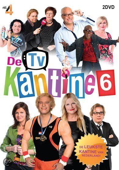 De TV Kantine - Seizoen 6  Geer & Goor, Marco & Leontine Borsato, Chantal Janzen & Najib Amhali, Roy Donders en Johnny de Mol