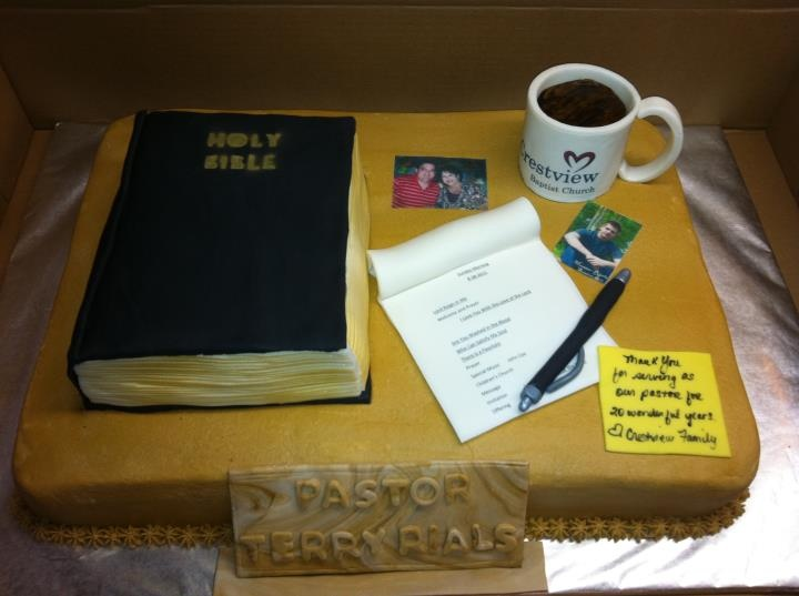 cake idea for Pastor appreciation