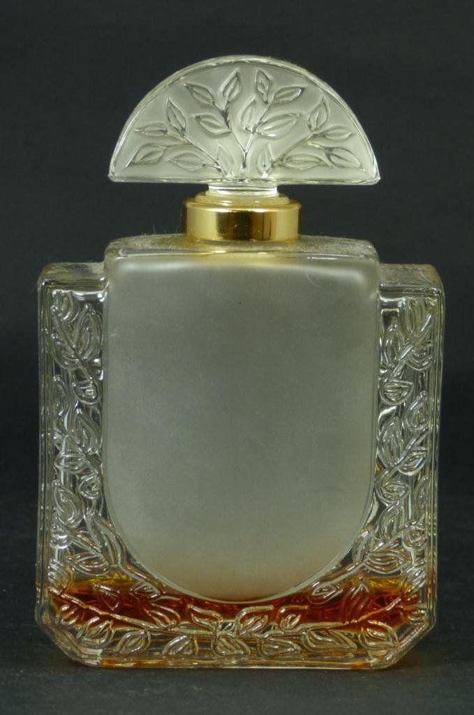 R. LALIQUE Art Deco Perfume Bottle