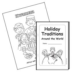 Holiday Traditions Around the World Picture Book - Heidi Songs - Sing-Along Songs that Teach!
