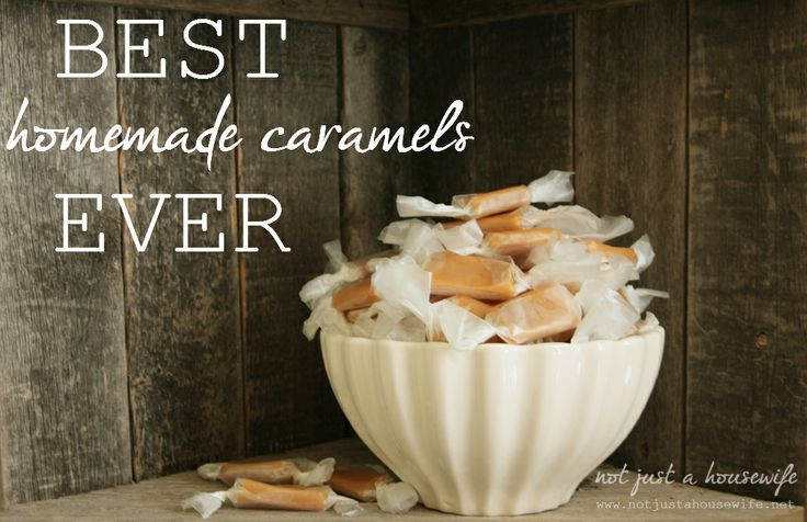 Best Caramel Recipe EVER! from @Stacy Risenmay at Not JUST A Housewife #caramelrecipe #caramel